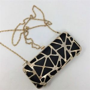 Sephora Evening Clutch Bag with Chain NWOT